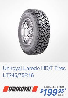 Uniroyal Laredo Tires