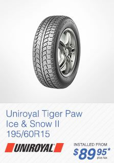 Uniroyal Tiger Paw Ice & Snow Tire