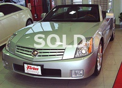 2004 Cadillac XLR with 39,000 KMS