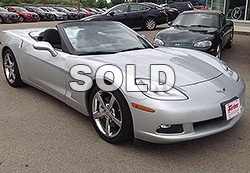 2009 Chevrolet Corvette Stingray 2 dr Convertible