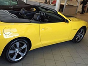 Chevrolet Camaro SS/RS Convertible