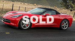 2014 Chevrolet Corvette Stingray 2 dr Convertible