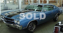 1970 Chevelle SS 396 -2 door coupe