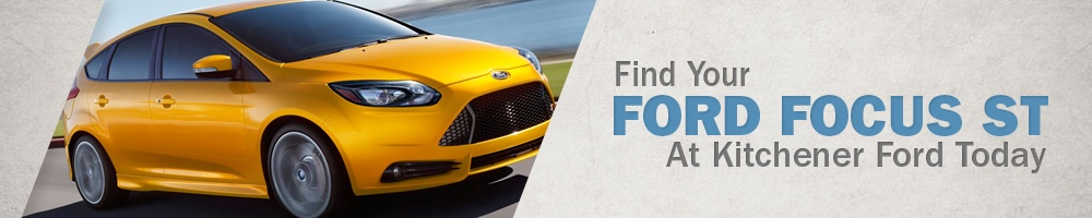 Yellow 2014 Ford Focus ST