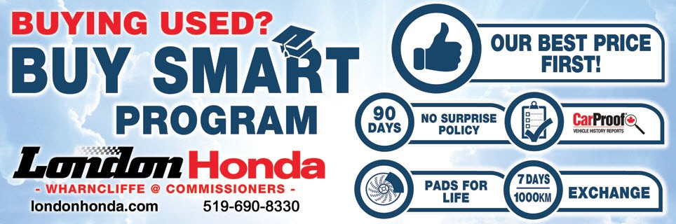 Buying used? Buy smart program. We put our best price first. CLick here to find out more.