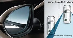 Wide-Angle Side Mirror