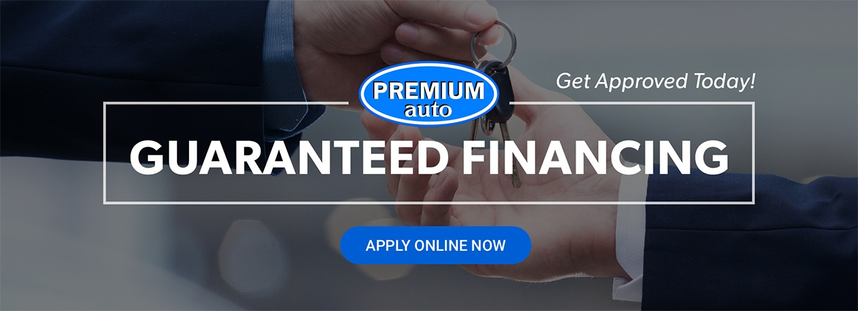 Guaranteed financing, apply now