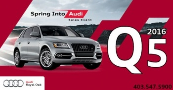 Spring Into the 2016 Q5
