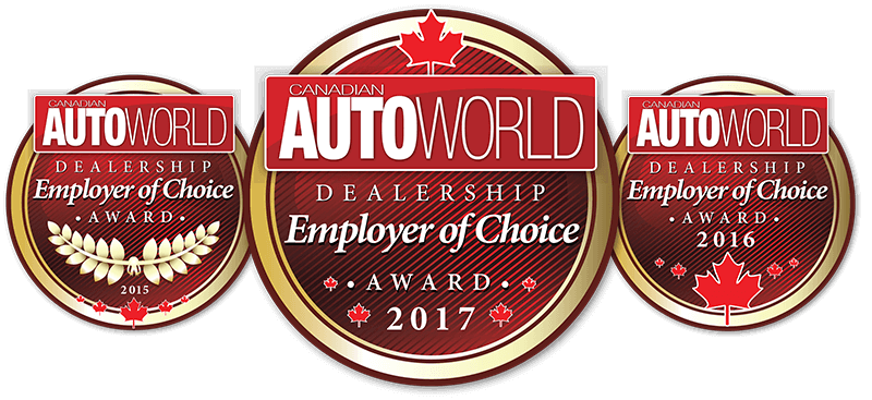 Canadian Auto World Employer of Choice Award