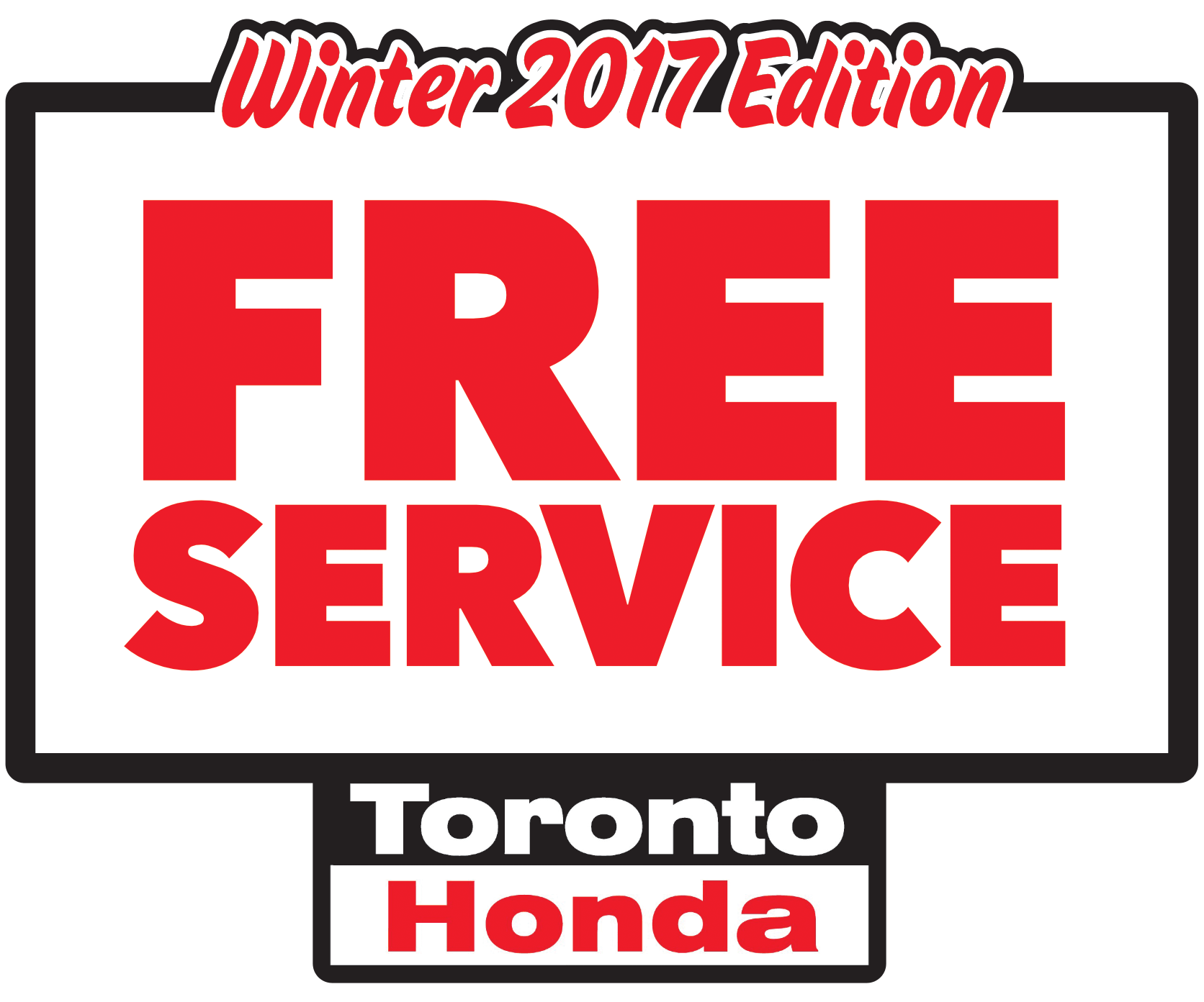 Free Service 2017 winter edition