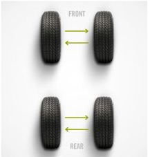 front wheel tires